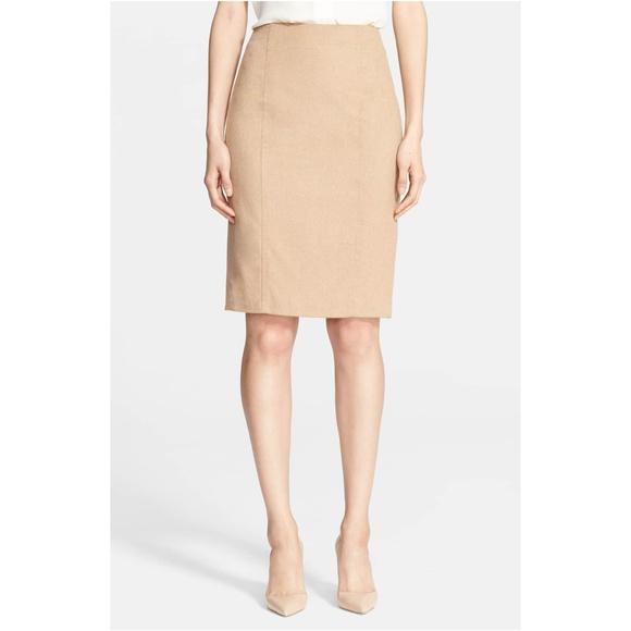 aa51d907cf MaxMara Skirts | Sargano Camel Hair Pencil Skirt Size 4 | Poshmark